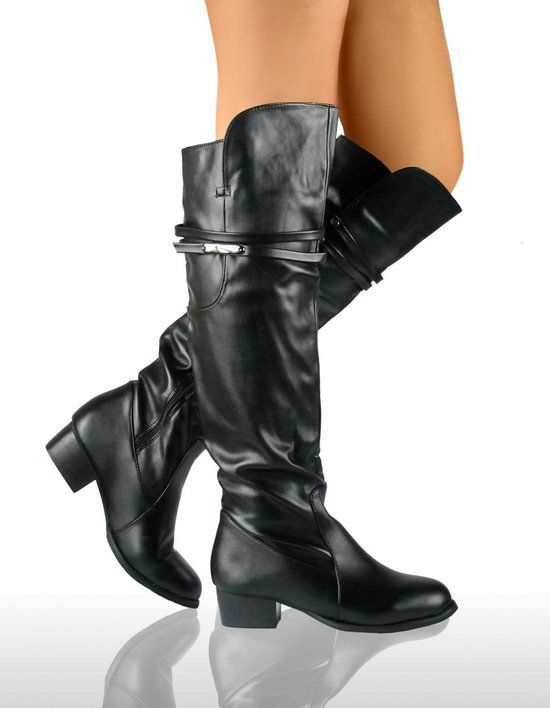 frauen high heel biker overknee sexy damen stiefel. Black Bedroom Furniture Sets. Home Design Ideas