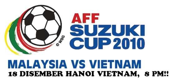 malaysia vs vietnam, keputusan terkini piala suzuki, piala suzuki 2010, keputusan terkini piala suzuki 2010, malaysia kalahkan vietnam