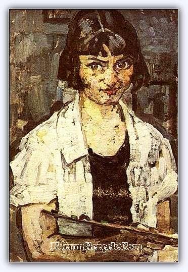 Kadın Ressam Hale Asaf Türk Ressamlar Güzel Sanatlar Edebiyat