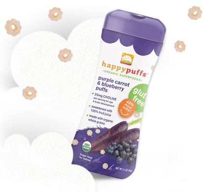 happy puffs purple at Cool Mom Picks